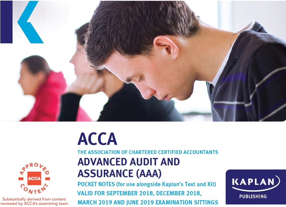 Kaplan ACCA P7 Advanced Audit and Assurance AAA (Int) Pocket